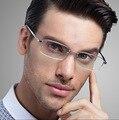 Титановые очки модный бренд дизайнер очки кадр мужчины masculino montures де lunette очки кадров антистресс