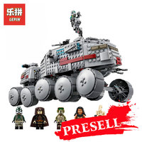 LEPIN 05031 Star Wars Classic Clone Turbo Tank Model Building Kits Blocks Bricks LegoINGly 75151 Children
