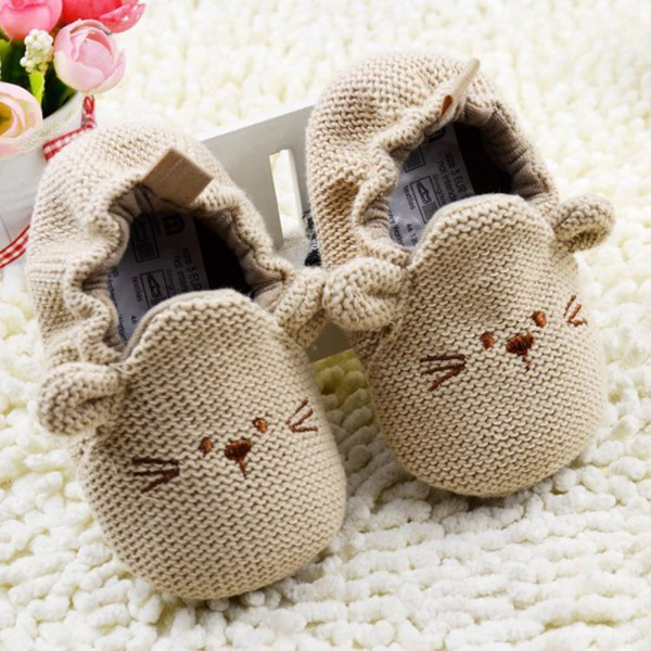 Baby Knit Soft Crib Shoes 4