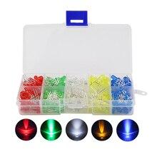 375 шт./лот 3/5 мм светодиод комплект 5 смешанных Цвет DIY LED для Raspberry Pi 3/2 с розничной коробка Бесплатная доставка