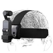 Sunnylife สำหรับ Osmo Pocket Head Band สวมใส่เข็มขัดอลูมิเนียมอะแดปเตอร์สำหรับ DJI OSMO กระเป๋ากล้อง GOPRO