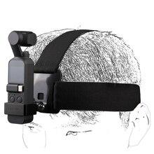 Sunnylife dla Osmo kieszeń opaska na głowę na sobie pasek Adapter ze stopu aluminium dla DJI OSMO kieszeń i kamery GOPRO