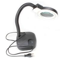 High Quality Magnifying Glass LED Light Lamp Desk Magnifying LED Table Light Magnifier ALI88