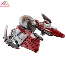 SERMOIDO Star Wars Obiwans Jedi interceptor Micro Fighters Building Bicks Blocks Baby toys LEPIN 05020
