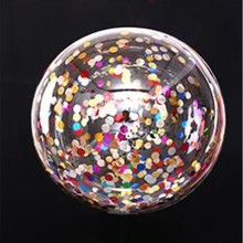 Confetti balloon 5 pcs/lot 18 inch wave balls birthday party decorations helium Ballons wedding decors kids toys wholesale