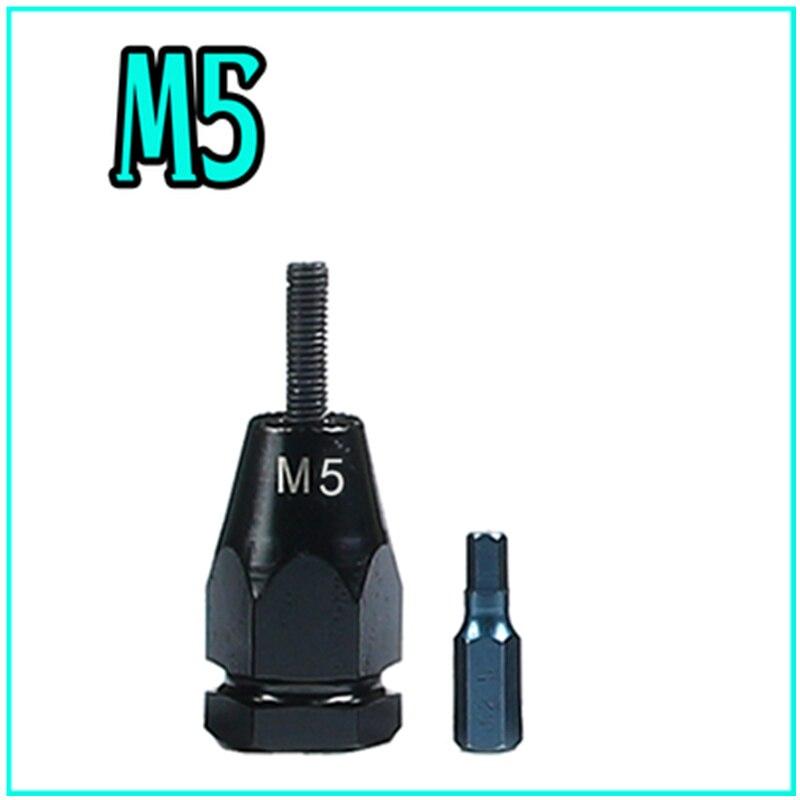 M3 M4 M5 M6 M8 M10 M12 Pneumatic pull cap gun accessories pneumatic rivet nut gun head