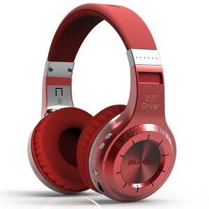 Image 3 - 業 bluedio ht ワイヤレス bluetooth ヘッドフォン bt 5.0 バージョンステレオ bluetooth ヘッドセット通話と音楽のための内蔵マイクヘッドセット