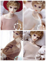 Loose Knitted 4 Colors Sweaters For BJD 1/3 1/4 LUTS DOD AS Doll Clothes CM86