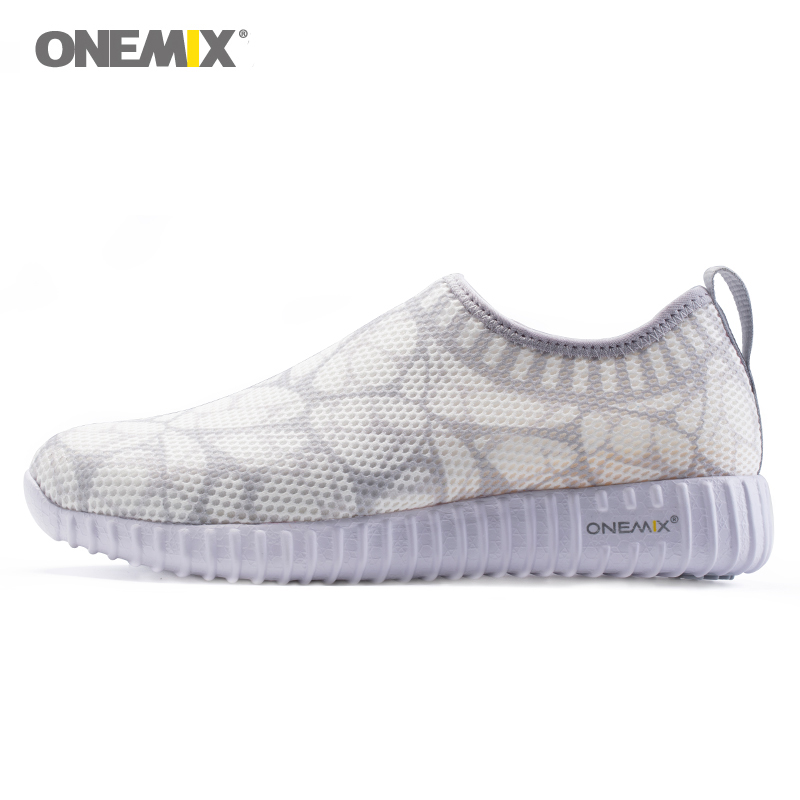 Onemix 2018 summer Womens Breathable Shoes Outdoor Sneakers comfortable Lightweight soft Untethered walking shoes for gilr