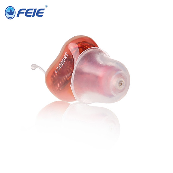 Mini Amplifier CIC type Digital Hearing Aid Price in France amplificateur sonore S-12A cheap price mini digital cic hearing aid for moderate hearing loss s 10a free shipping