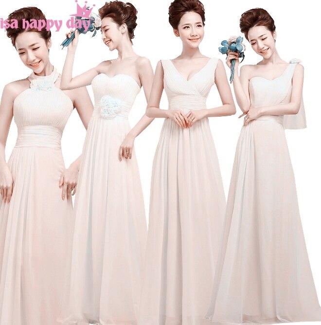 country long elegant ivory bridemaids 2019 cheap   bridesmaid     dresses   under 50 gown formal sleeveless   dress   women   bridesmaids