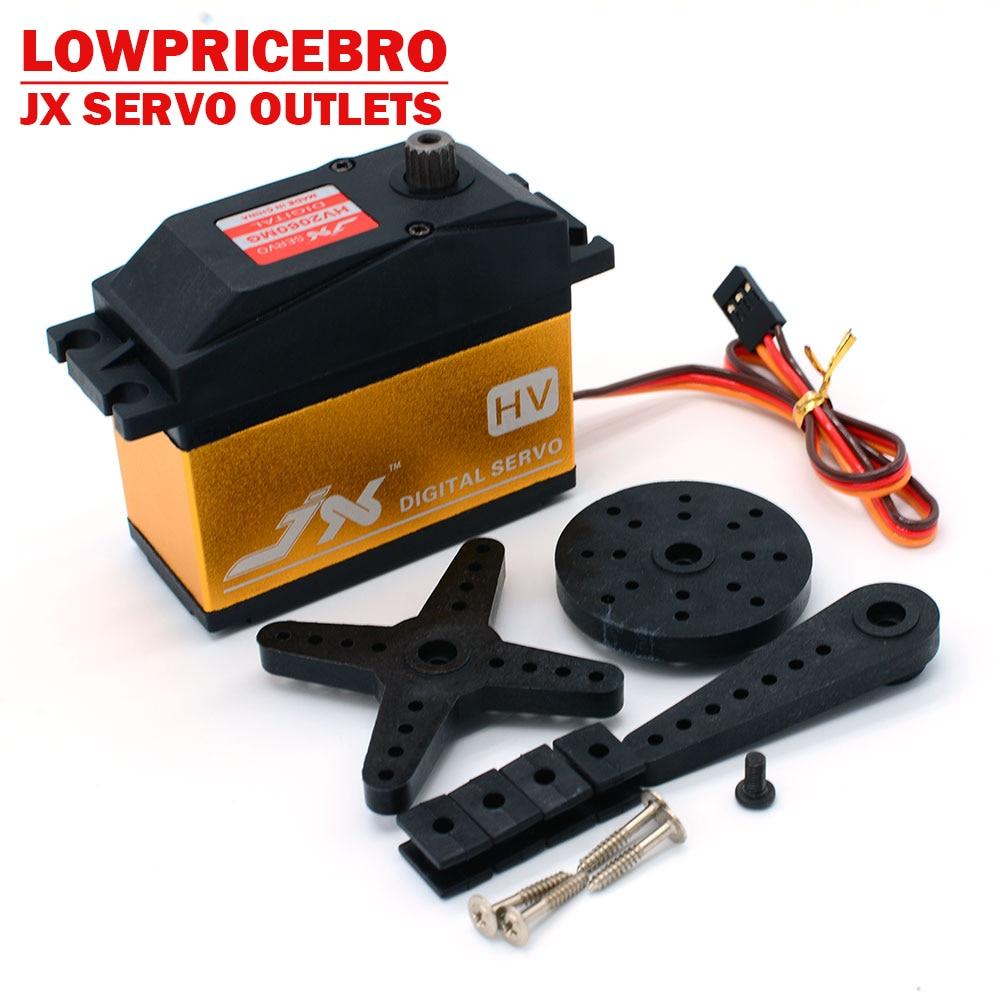 JX Servo PDI HV2060MG 62kg Metal Gear High Voltage Core Digital Servo for RC 1 5