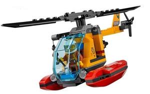 Image 4 - 60161 02061 870pcs Jungle Exploration Site Figure Model building toys Compatible with blocks City Bricks for children