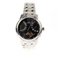 Genuine Seagull Flywheel Retrograde Date Exhibition Back Black Dial Automatic Men's Business Watch 816.425