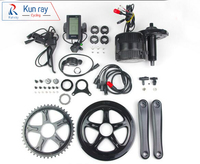 DHL Free Shipping Ba Fang BBS02B 36V350W Electric Bicycle Motor Mid Drive Ebike Kit C961 LCD