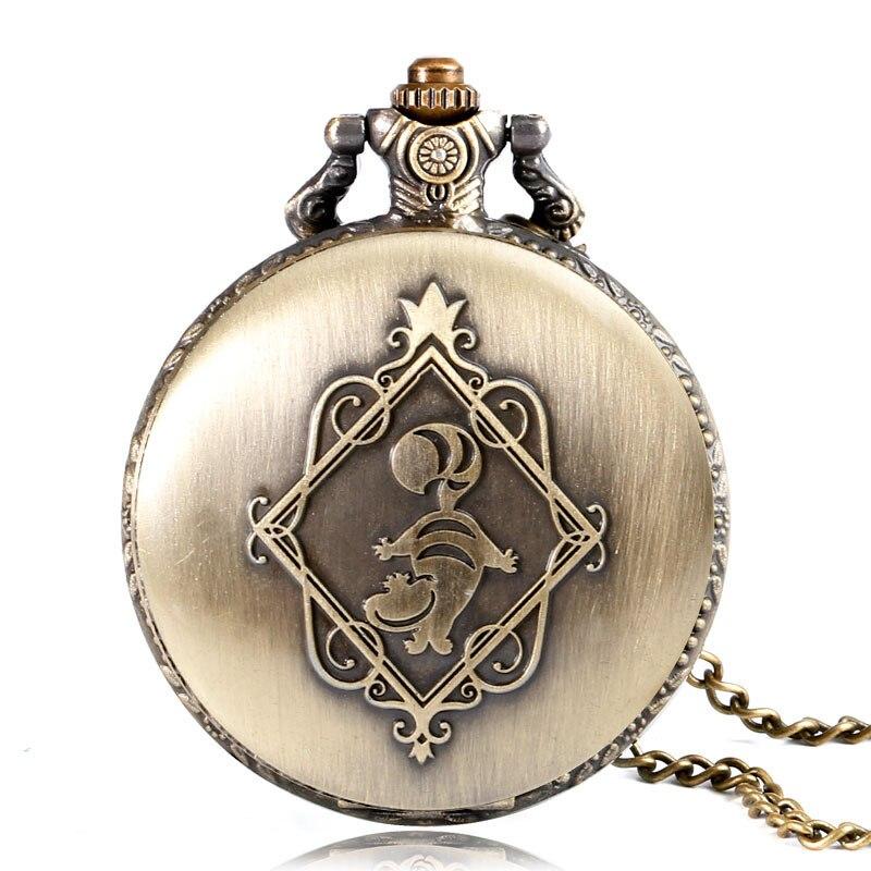 Винтидж мед джобен часовник Алиса в - Джобни часовници - Снимка 5