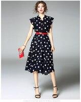 ALI1710225 Hot koop Nieuwe Mode Vrouwen 2017 Zomer Jurk Populaire Merk Mode Ontwerp Vintage Vrouwen jurken Party stijl jurk