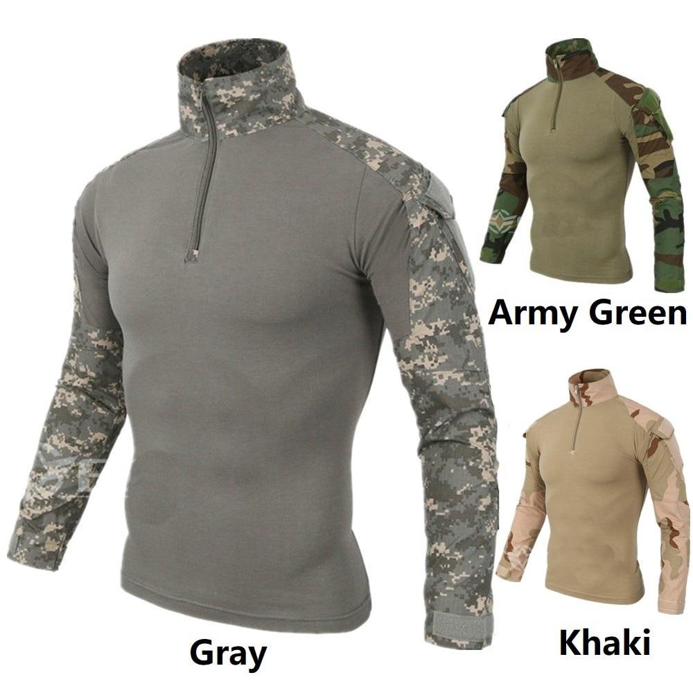 Jagd-unterbekleidung stg051181 Sportbekleidung Taktische Langarm G2 Combat Shirt Airsoft Paintball Military Outdoor Shirt Männer Multicam Schwarz Typhon Ranger Grün