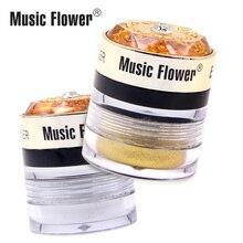 Official Music Flower 2 in 1 Fascinated Eyebrow & Eyeliner Cream with Makeup Brush Long Lasting Waterproof Eye Liner Women цена 2017