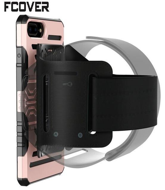 Transport Case Schutzhülle Für Apple iphone 6 Plus Armband Abdeckungs-harter Rennen Sport Halter