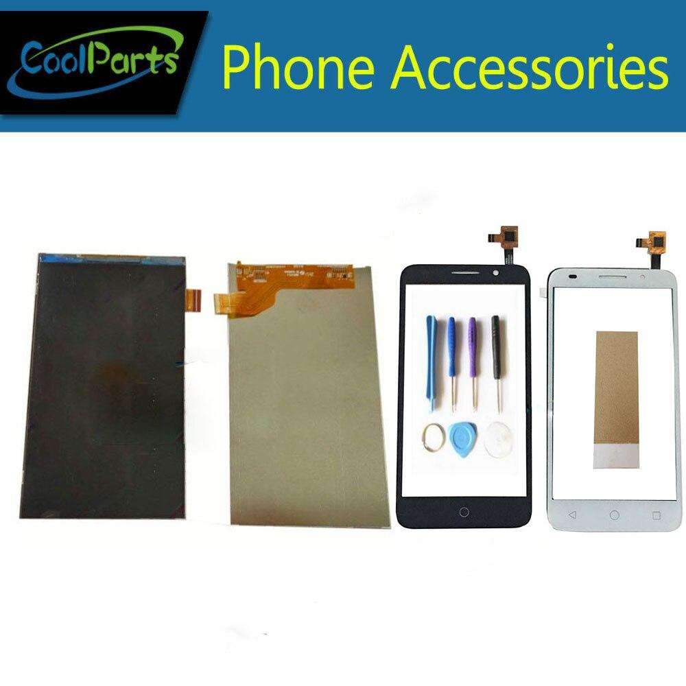 1 pc/lot para Alcatel Pixi 3 5015 5015E 5015A 5015D 5015X OT5015 pantalla LCD + pantalla táctil con digitalizador cinta y herramienta