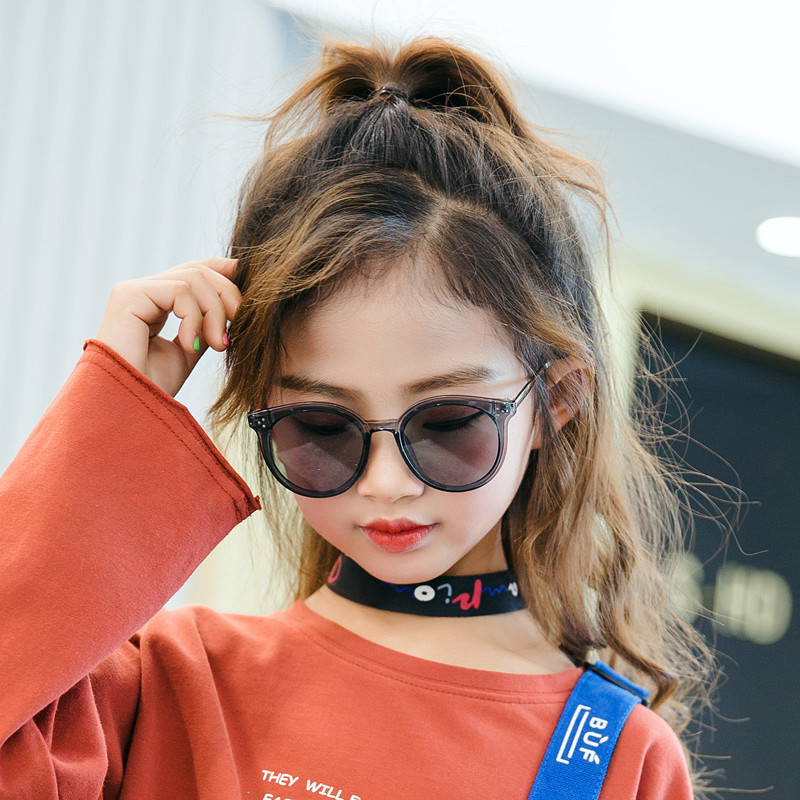 2019 New Children Baby Fashion Sunglasses New Children's Sunglasses Rice Nails Children Sunglasses Girls Boys Sunglasses Oculos