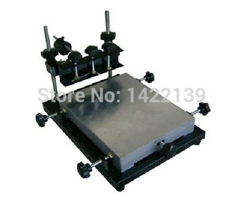New Manual solder paste printer,PCB SMT stencil printer L size 600x420mm битва за сектор