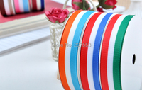 1 1/2(38mm) 100yards Grosgrain Ribbon Printed Swiss Scotland Stripe ~high quality Free Shipping