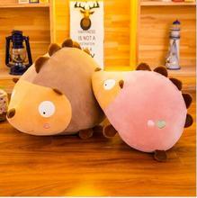 WYZHY Creative new hedgehog plush toy cartoon doll creative sofa bedroom decoration send friends children gifts 30CM
