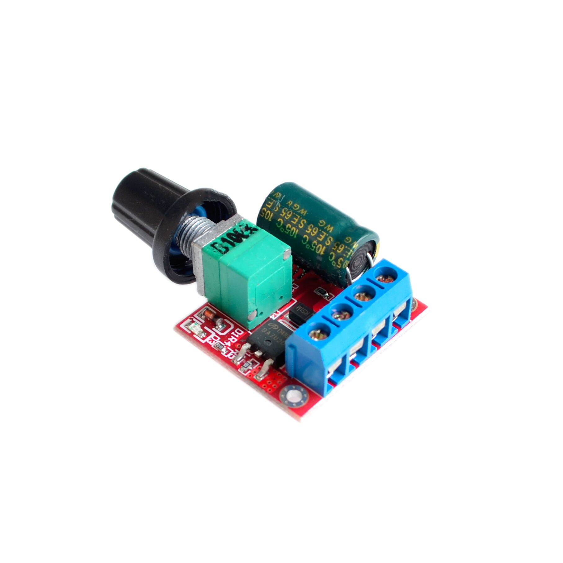 Mini 5a Pwm Max 90w Dc Motor Speed Controller Module 3v 35v Led Dimmer Control Circuit High Qutaly Dcdc Leds Switch