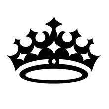 Kids Room Wall Sticker Waterproof Queen Crown Wall Decal Removable Vinyl Art Home Decor Chidlren Gifts
