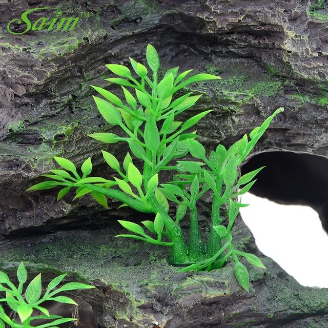Mountain Fish Tank Ornaments Aquarium Decoration Rockery With Cave Landscape 3