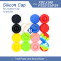 10pcs Joystick Caps Colorful Silicone Analog Grip Thumbstick button cap cover for PS4 controller Xbox one PS3 controller