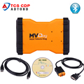 Hot vendas MVDiag VCI Com Bluetooth TCS CDP de Diagnóstico Universal para o CAMINHÃO DO CARRO Do Veículo Multi Diag MVD frete grátis