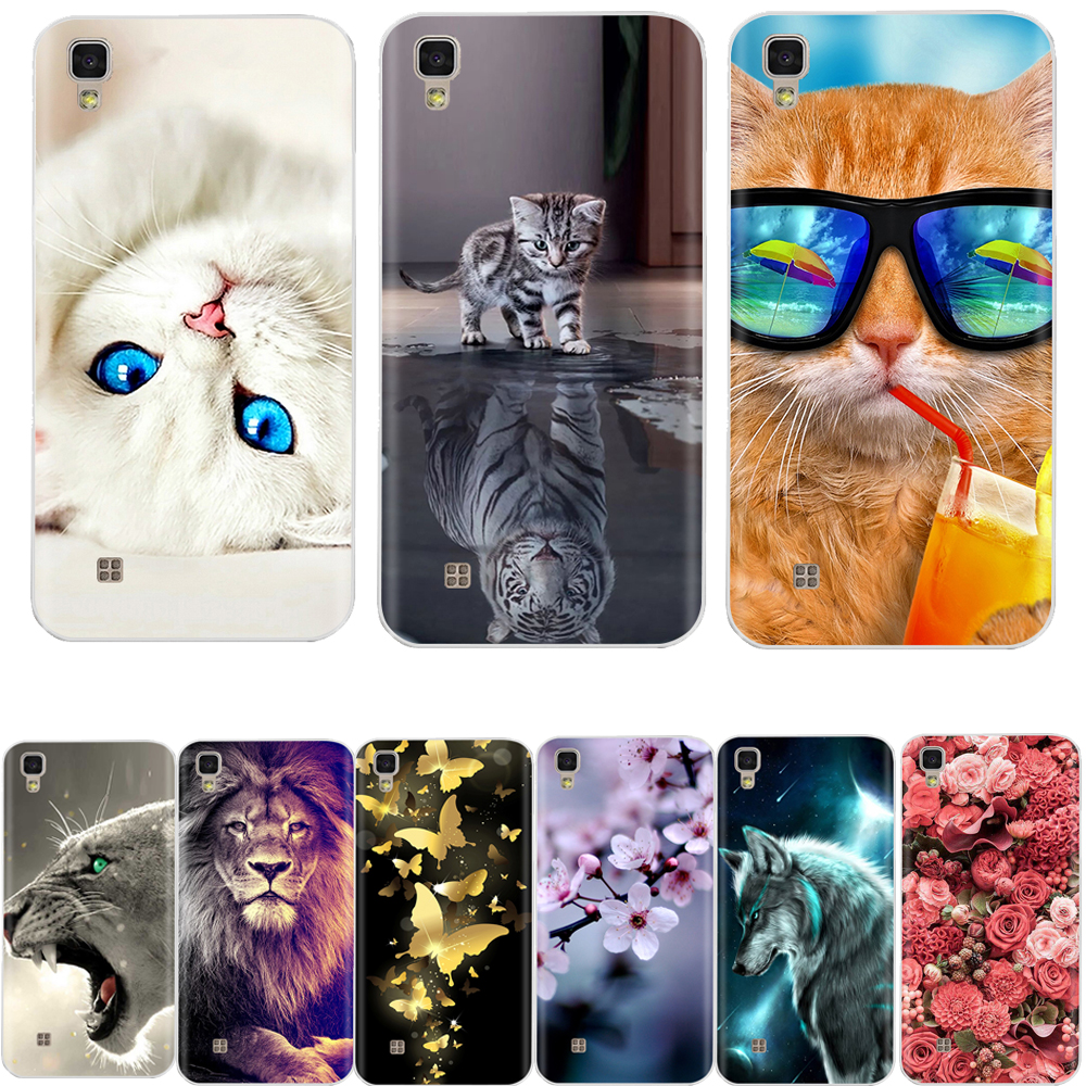 Soft TPU Silicone Case For LG X Power 5.3 Inch Fashion Floral Pattern Back Cover For LG X Power K220 K220DS Phone Case
