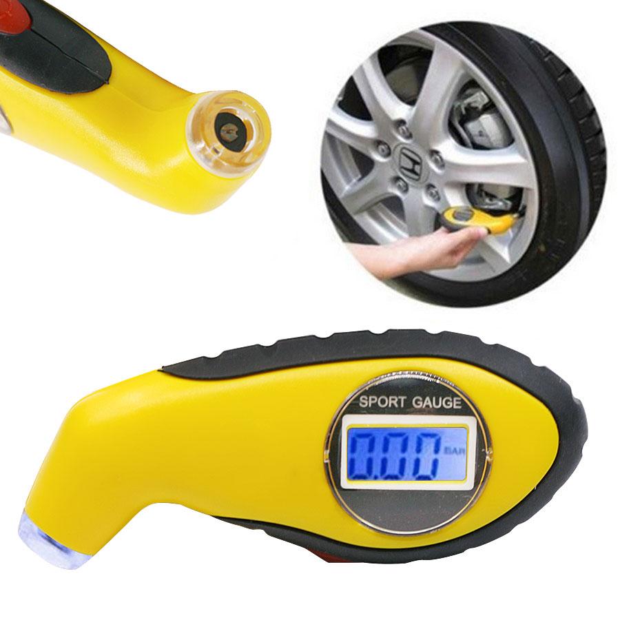 digital car tire pressure gauge reader with lcd. Black Bedroom Furniture Sets. Home Design Ideas