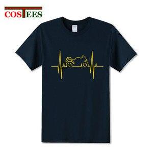 Comic Electromoto heartbeat T