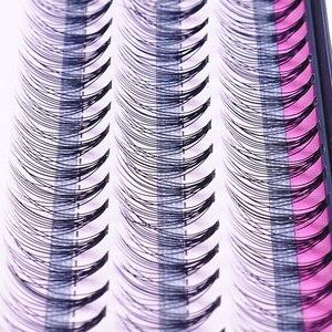 Image 1 - Fashion 60pcs Professional Makeup Individual Cluster Eye Lashes Grafting Fake False Eyelashes