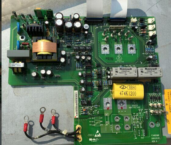 Teardown converter EV2000 series 15kw and 18.5kw power driven plate F3452GM1 webmaster board