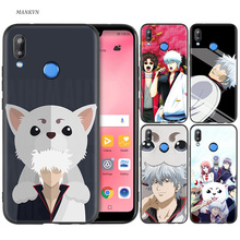 Silicone Case Cover for Huawei P20 P10 P9 P8 Lite Pro 2017 P Smart+ 2019 Nova 3i 3E Phone Cases Anime Gintama Gintoki стоимость