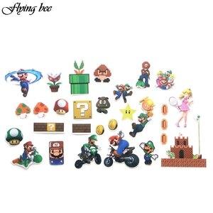 Image 3 - Flyingbee 29 個ゲームブラザーズ防水ステッカー子供のおもちゃステッカーdiyの荷物のラップトップスケートボード自動車電話装飾X0040