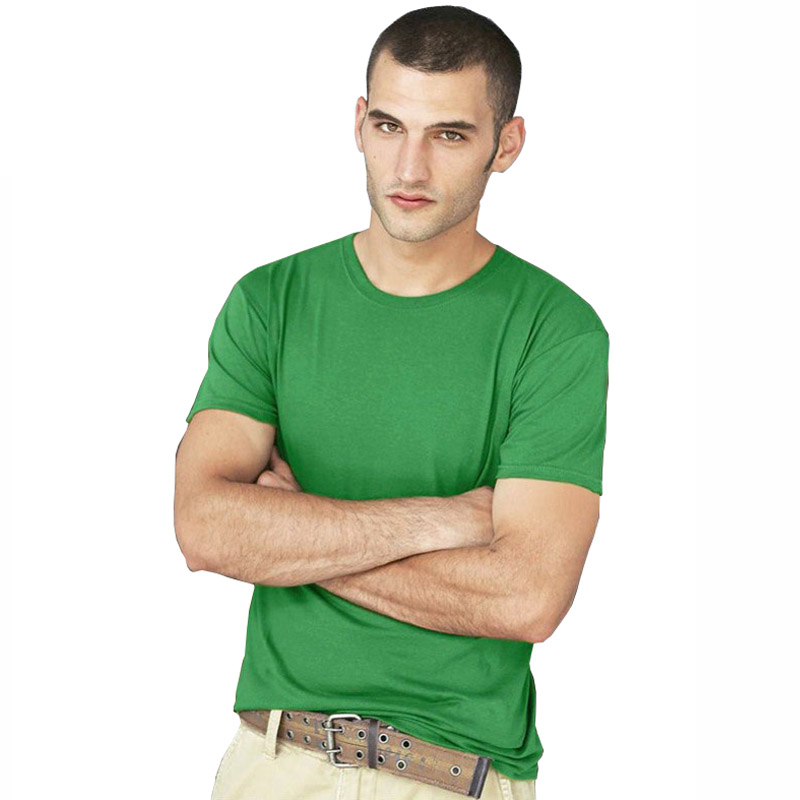 Men / Women / Kids unisex Casual T Shirt Cotton Short Sleeve O-Neck Slim Fit T-shirt Solid Color T shirts Men's casual base tops