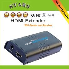 1080P LKV373ไร้สายHdmi Ethernetเครือข่ายเครื่องส่งสัญญาณExtender 100M Cat5e/CAT6สำหรับRJ45,dropShipping
