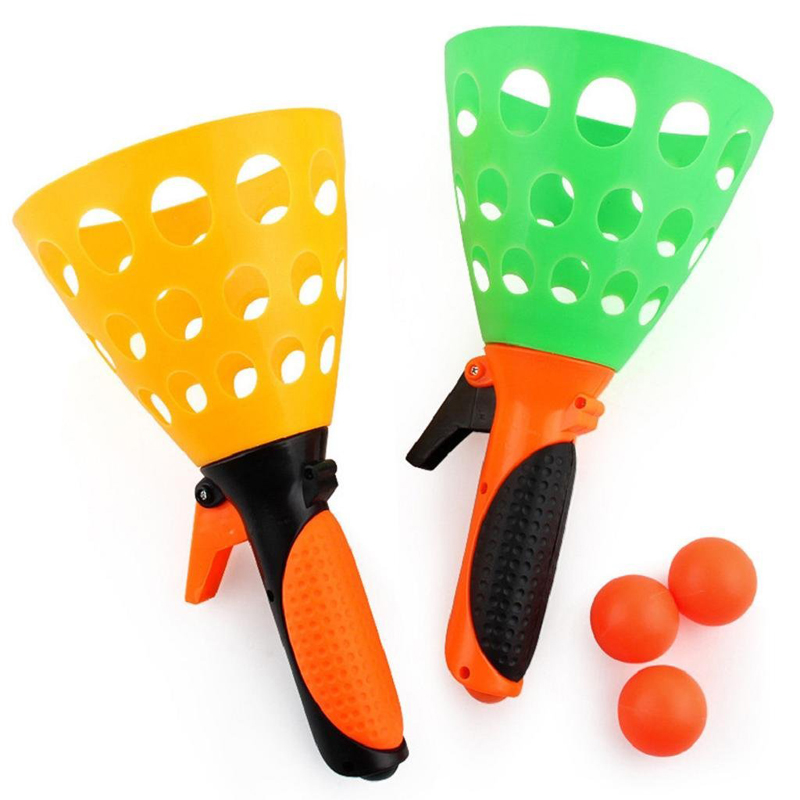 Parent-child Interactive Handball Kids Throwing And Catching Ball Toy Set Indoor Outdoor Sports Game Children Gift