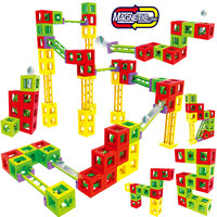 New DIY Magnetic Designer Construction Set Model & Building Plastic Magnetic Blocks Educational Toys For Children Gifts