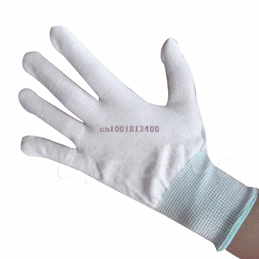 Nylon Quilters Movement Machine Quilting Sewing Handle Gloves Fingertip