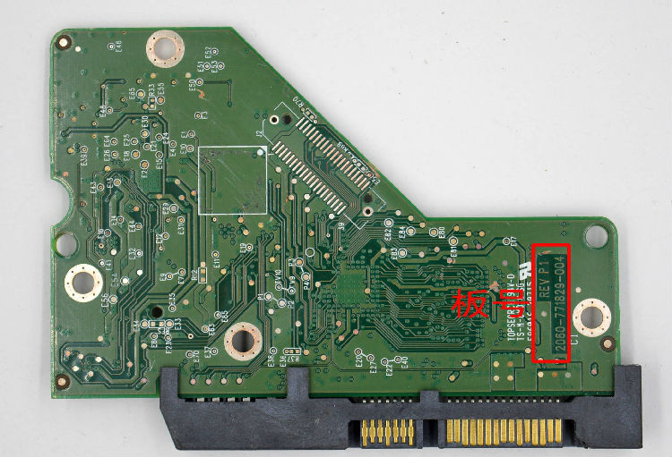 HDD PCB Circuit Board 2060-771829-004 For WD 3.5 SATA Hard Drive Repair Data Recovery