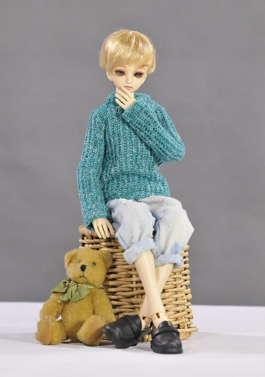 1/4 38-45cm tall BJD doll BJD Doll accessories Bjd clothes sweater 2 colors fashion sweater for bjd 1 3 1 4 uncle doll clothes accessories 4 colors