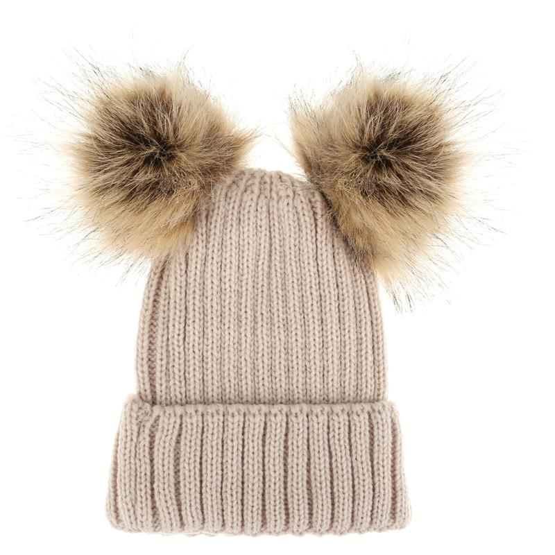 bf0b387ed3c Autumn Winter Baby Hat for Boy Girl Beanies Cap Children Cartoon Fox  Knitted Skullies Beanies Acrylic Fiber Kids Warm Cap USD 2.98 piece