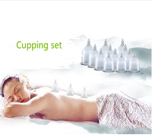 12 cups Chinese Medical Vacuum Body massager magnetic Acupunture Vacuum Cupping Set Portable Massage Therapy health